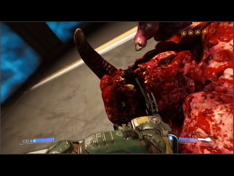 DOOM 2016 Death Scenes / Kills (Most Violent Kills / Deaths) (DOOM 4)