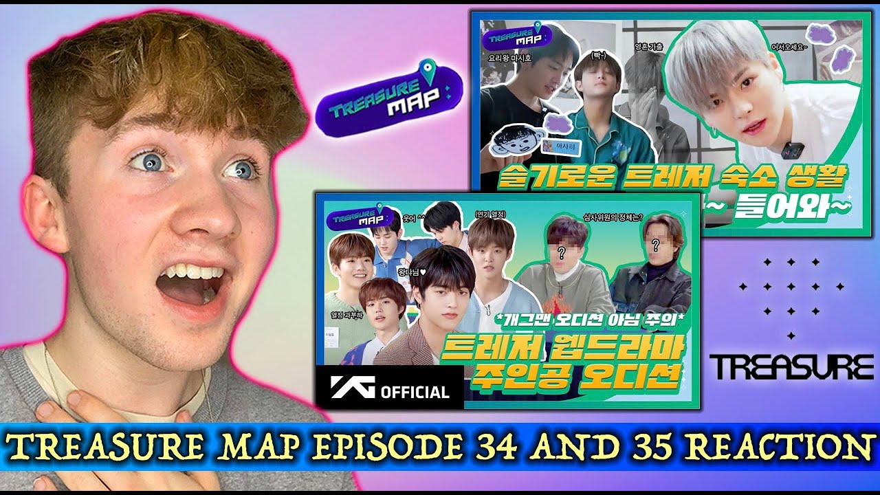 TREASURE MAP EPISODE 34 AND 35 REACTION