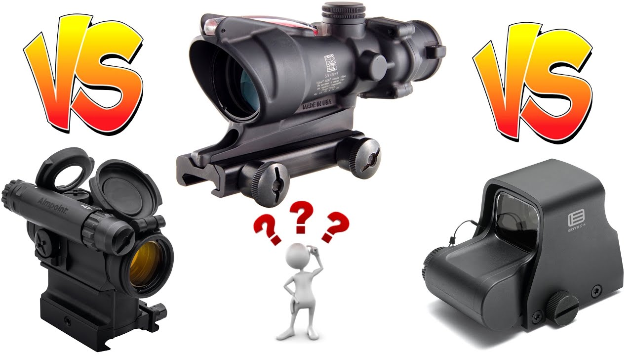 🔴 The Ultimate Showdown To Find The Best Optic For You