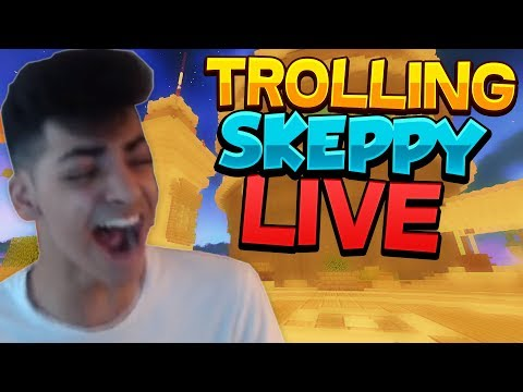 TROLLING SKEPPY WHILE HES STREAMING! (RAGE)