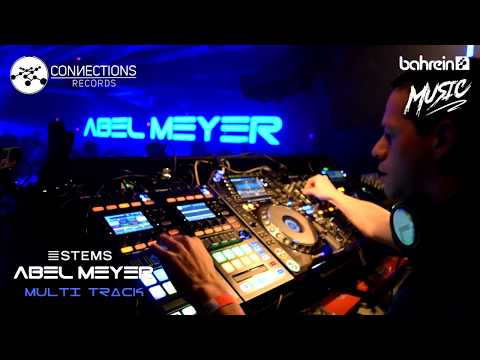 Abel Meyer Multi Track STEMS Live @ Bahrein Music 15-07-17  - Techno Set Full HD