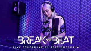 DJ JEJE QUEENSHA BREAK THE BEAT - LIVE STUDIO 2 MATALELAKI 26/09/2019 ( BREAKBEAT )