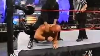 Stone Cold Steve Austin Vs Eric Bischoff   NO DQ   WWE 2003 thumbnail