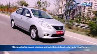 Nissan Sunny Diesel Video Review and road test by CarToq.com - Nissan Sunny Pros and Cons