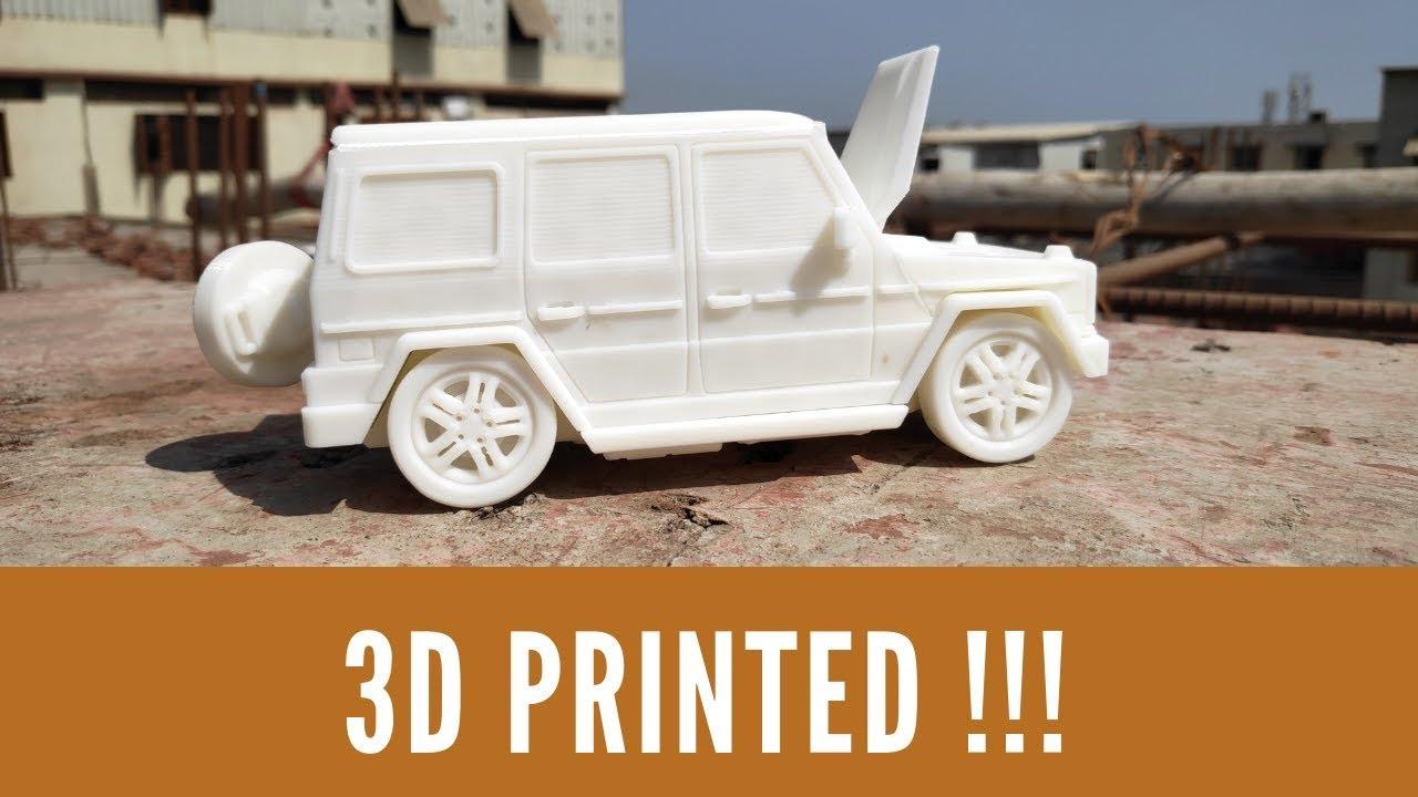 Magic CAR - 3D Printed / Pratham 3 0 3D Printer  - 3D Printing Tube