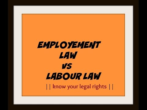 Employment Law Attorney | Labour Law | Legal Knowledge | Legal Help | India || Part 01 |