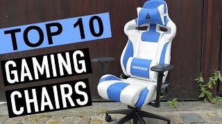 BEST 10: Gaming Chairs 2018