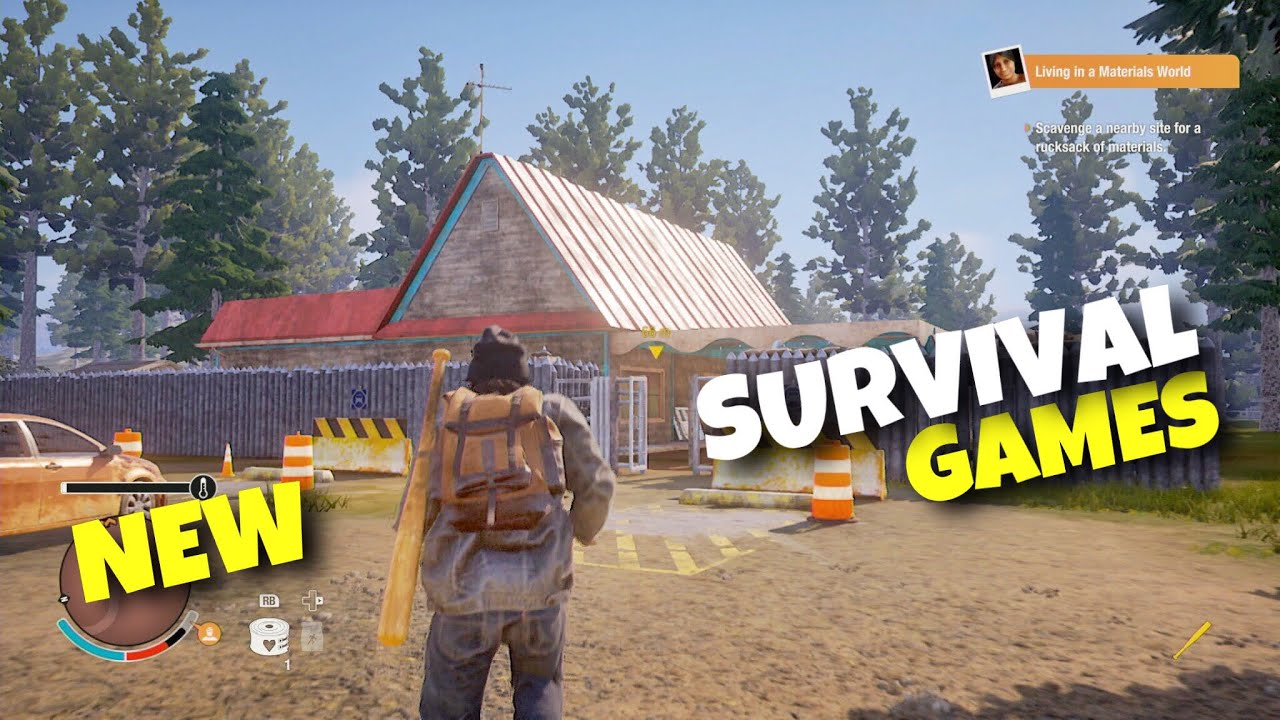 Top 10 New Survival Android Ios Games 2019 Youtube
