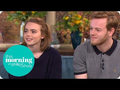 The Durrells' Callum Woodhouse And Daisy Waterstone  This Morning