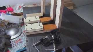 Приспособления для изготовления железных ящиков