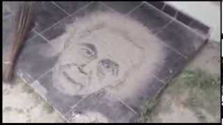 Baixar Aksi Taufik Noor Menyulap Abu Kelud Menjadi Wajah Einstein