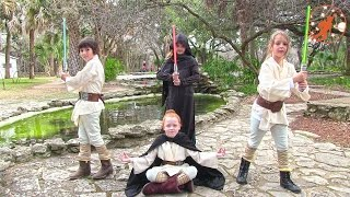Star Wars Kids 3 - Kidnapping Rescue Mission 1 - Jedi vs Sith