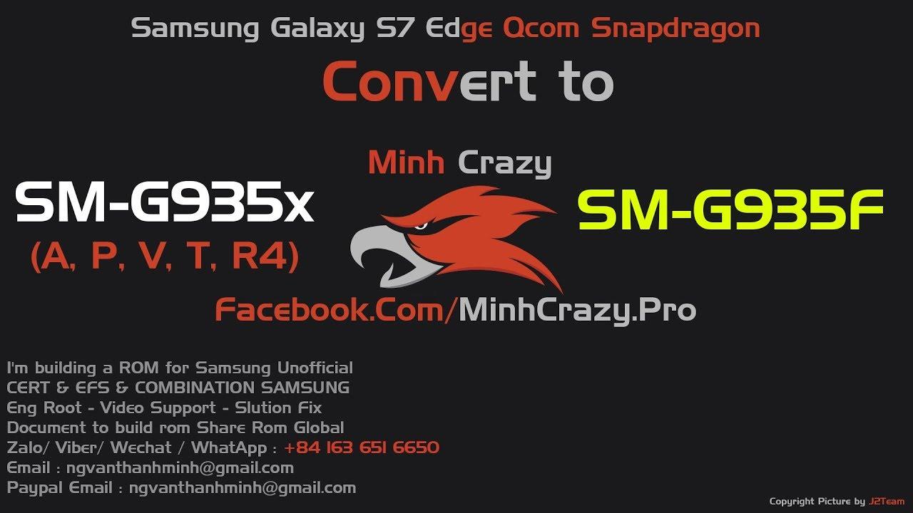 ROM Note 8 Port for Samsung Galaxy S7 Edge Qcom SM-G935x (A, P, V, T, R4)  Convert to SM-G935F model
