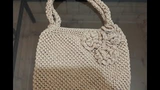 Puff Stitch Crochet Bag