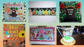 School display board decoration ideas || amazing display board ideas for school