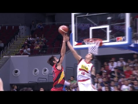 Pingris Rejects Fajardo | Philippine Cup 2015-2016