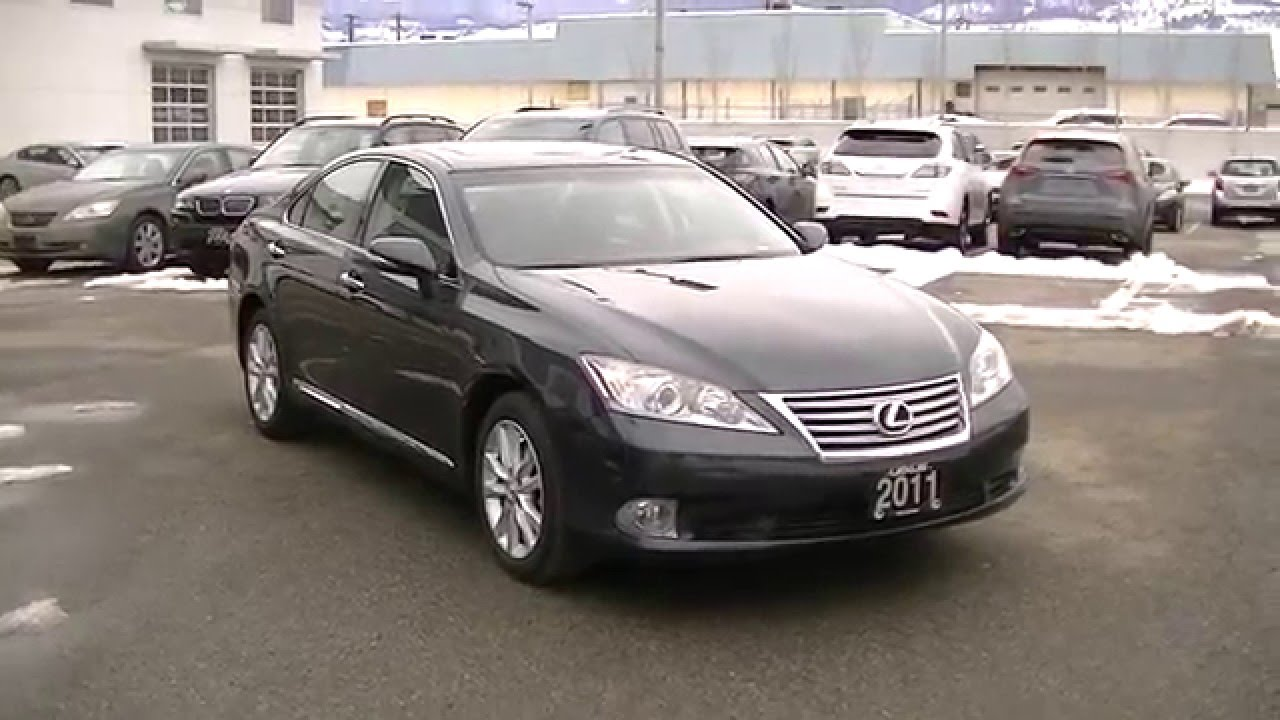 2011 Lexus ES 350 Video 001