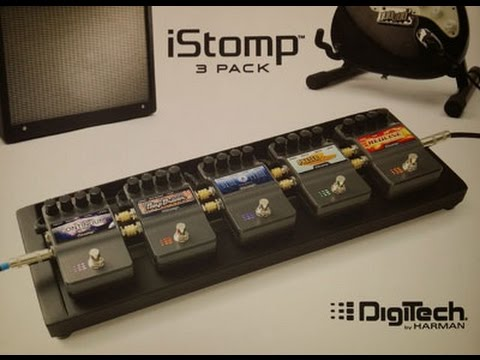 Digitech iStomp - Unboxing and setup