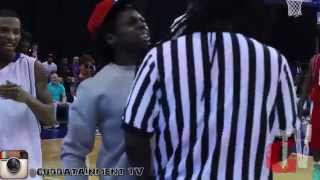 (FUll Version) Ref Pushes Lil Wayne Then Ref Gets