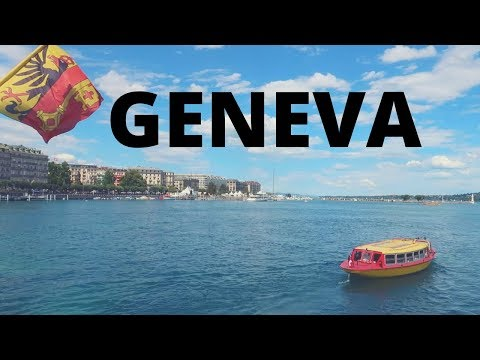 WALKING AROUND LAKE GENEVA | SWITZERLAND | #GENEVA 2017