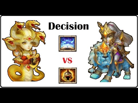 REVITALIZE Vs WARGOD Medusa Lady Leo Hew Hero Talent Roll Quest Guild Wars Egg Pets Castle Clash P2