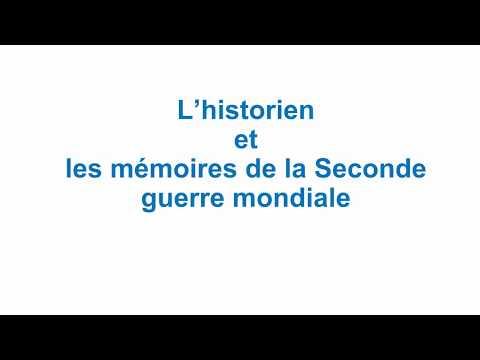 [Terminales] L'historien et les mémoires de la Seconde guerre mondiale-cours complet