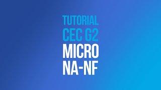 Tutorial CEC G2 - Configuração Fins de Curso (NA-NF)