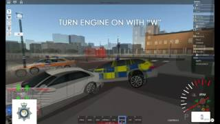 [Roblox City of London] Uk Policing the British way in london.