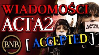 ACTA 2 Weszło, Media NIE MÓWIĄ Wszystkiego! SZOKUJĄCE Wypowiedzi Polityków | WIADOMOŚCI