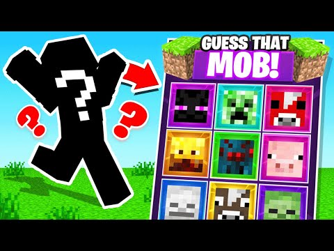 GUESS the MOB For Minecraft LOOT
