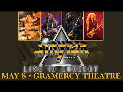 Stryper Gramercy Theater NYC May 8, 2018
