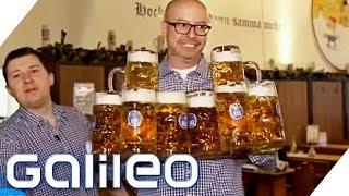 Kellner im größten Wirtshaus Deutschlands - Das Selbstexperiment | Galileo | Galileo