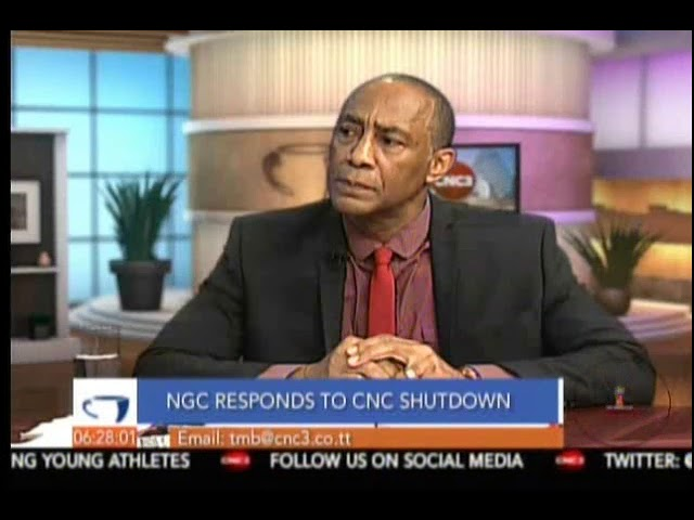 NGC Chairman Gerry C. Brooks responds to the CNC Shutdown Part 2/3