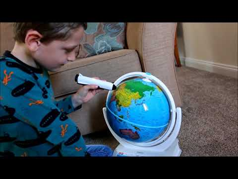 SmartGlobe Explorer AR from Oregon Scientific - a great educational globe