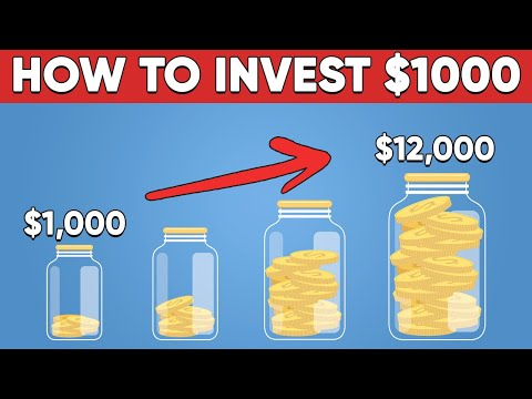 How To Invest Your First $1000 In 2021 (Step By Step)