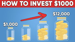 How To Invest Y๐ur First $1000 in 2021 (Step by Step)