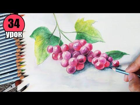 Как рисовать акварельными карандашами. Лайфхаки + техники.