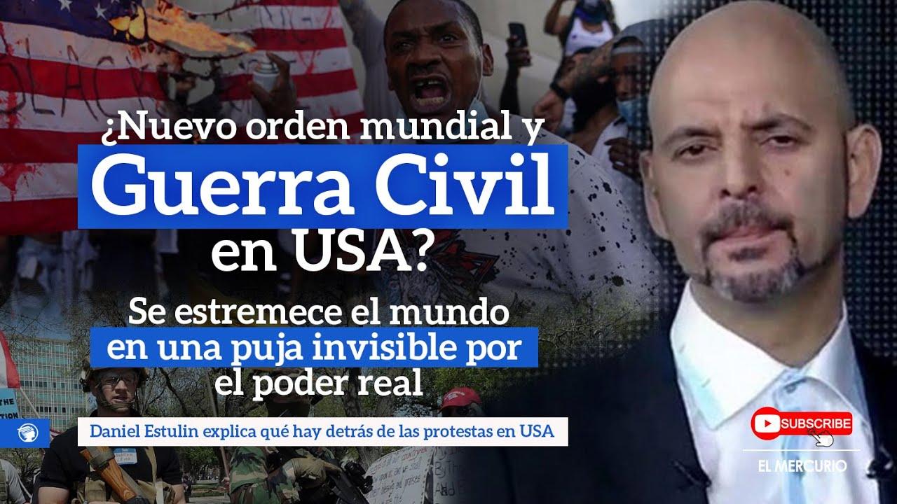 ¿Nuevo orden mundial y Guerra Civil en los Estados Unidos?... con Daniel Estulin
