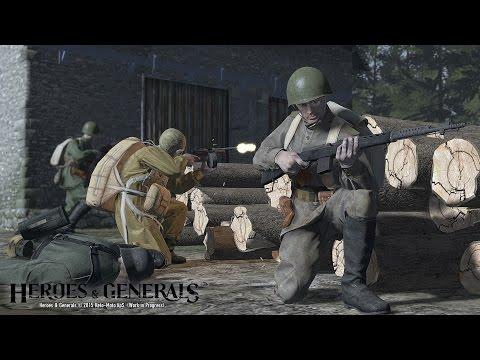 "Heroes & Generals СВТ-40 Одна жизнь SVT-40 ""One life"""