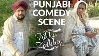 Gareebni FUNNY COMEDY SCENE | LATEST PUNJABI COMEDY 2017 | Ammy Virk | Nikka Zaildar