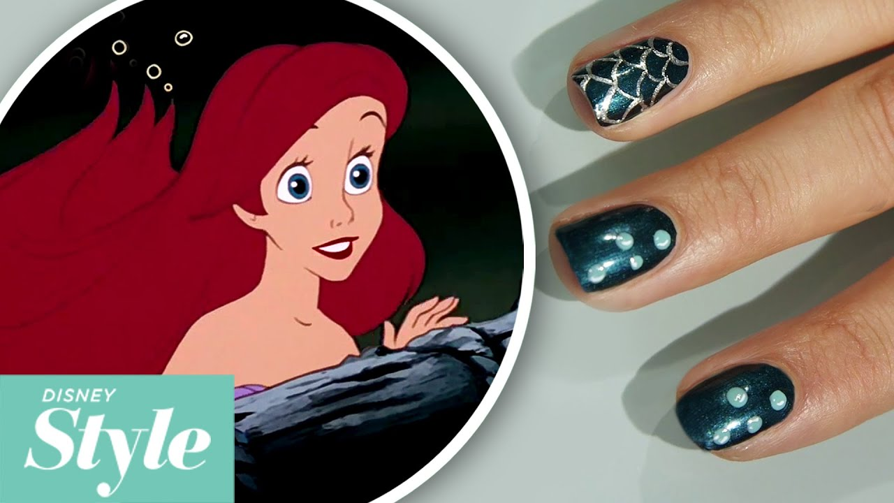 The little mermaid under the sea nail art tutorial disney style the little mermaid under the sea nail art tutorial disney style youtube prinsesfo Images
