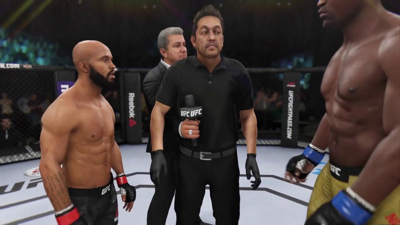 Download Demetrios Johnson vs. Francis Ngannou (EA sports UFC 3) - CPU vs. CPU - Crazy UFC 👊🤪