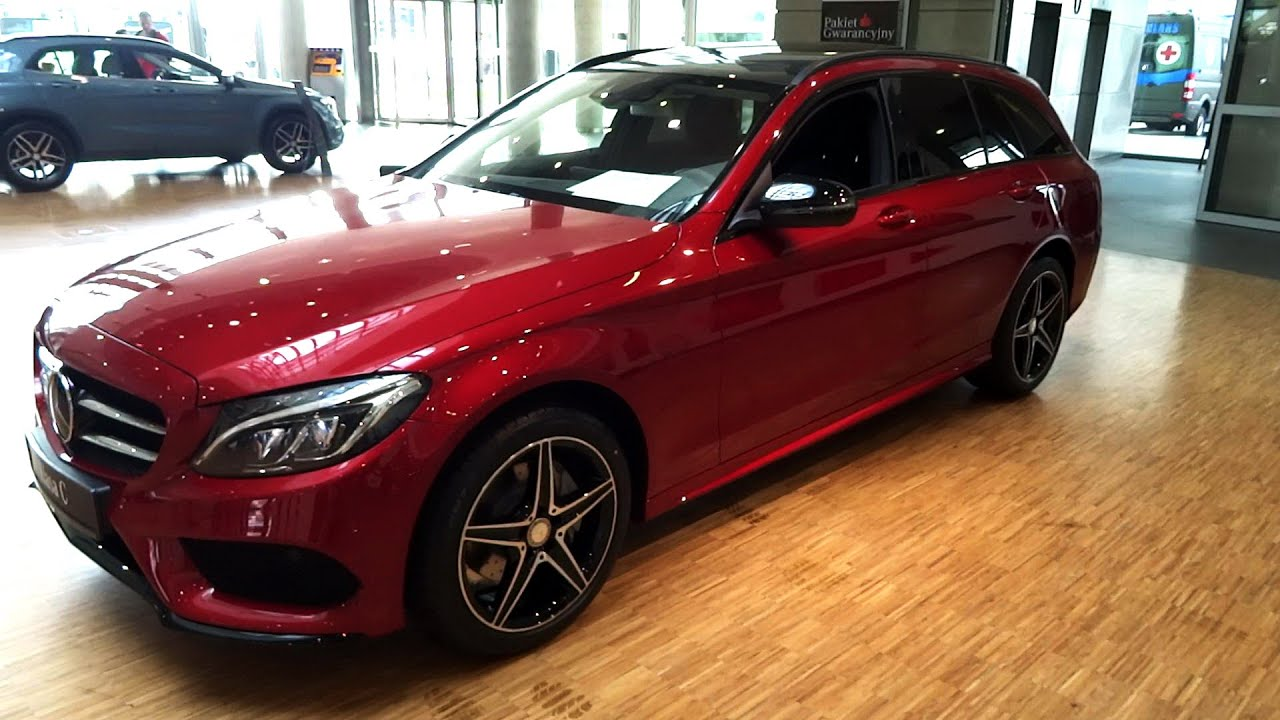 2015 2016 Mercedes W205 C Class Wagon Amg Beautiful Red