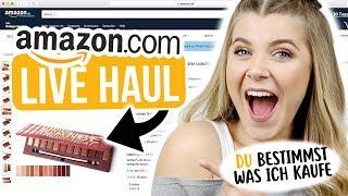 ONLINE AMAZON LIVE HAUL 💻 | IHR bestimmt was ich kaufe 😱 + Verlosung | Coco