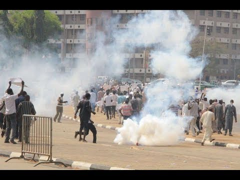 SHIITE PROTEST IN ABUJA TURNED TO CRISIS  SHIITE VS NIGERIAN ARMY