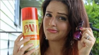 Pinterest Busters: Does PAM Cooking Spray Dry Nail Polish Faster? (And July 2013 Ipsy Bag!)