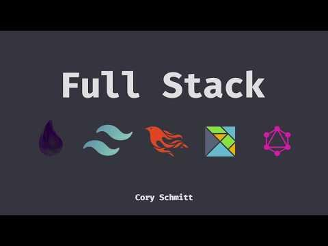 FullStack #1 The Setup, Elm, Elixir / Phoenix, Tailwind CSS, GraphQL