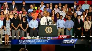 Obama: I won't decide who makes best barbecue in Kansas City