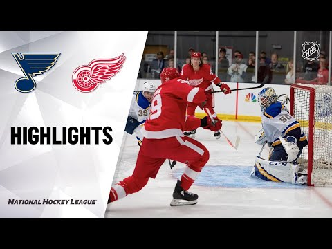 09/26/19 Condensed Game: Blues @ Red Wings