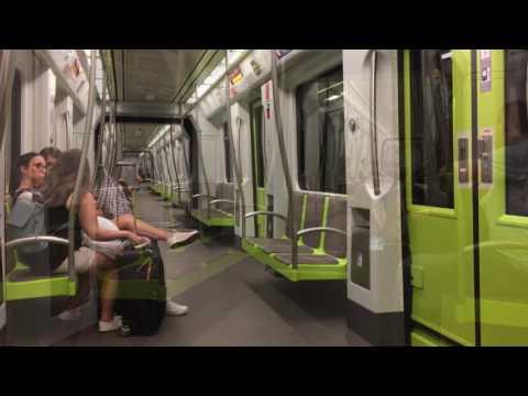 Metro Valencia. August 2017